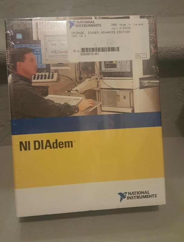 New sealed NI DIADEM Advanced Edition