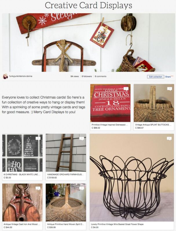 Creative Ways To Display Christmas Cards Ebay