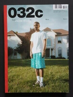 032c FRANK OCEAN Winter 2017/18 Issue 33 Magazine Good Condition *See Pictures*