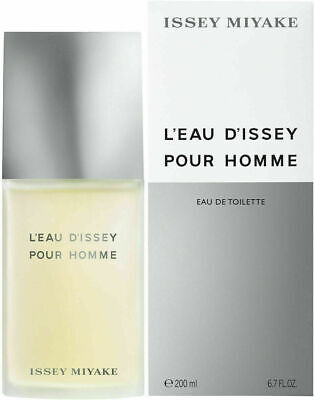 L'EAU D'ISSEY POUR HOMME by ISSEY MIYAKE 6.7 oz EDT Spray *NEW COLOGNE* PERFUME