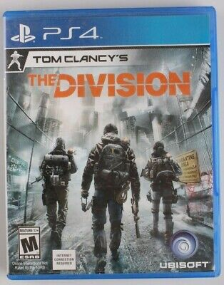Tom Clancy's The Division PlayStation 4 Standard Edition PS4 Games, used for sale  Shipping to Nigeria