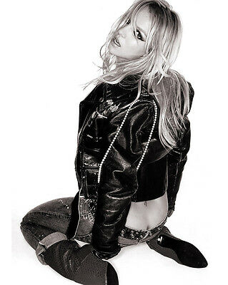 BRITNEY SPEARS 8X10 PHOTO PICTURE PIC HOT SEXY ASS IN LEATHER 153