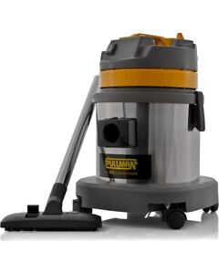 NEW PULLMAN CB15SS Stainless Steel Commercial Wet & Dry Vacuum Cleaner