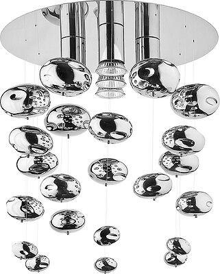 NEW NOWODVORSKI Chrom Salva 5xGU10 Luxurious Modern Chandelier