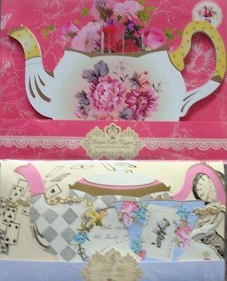 Alice in Wonderland Centerpiece; Tea Pot Vase; Mad Hatter Theme Decorations (Mad Hatter Baby Shower)