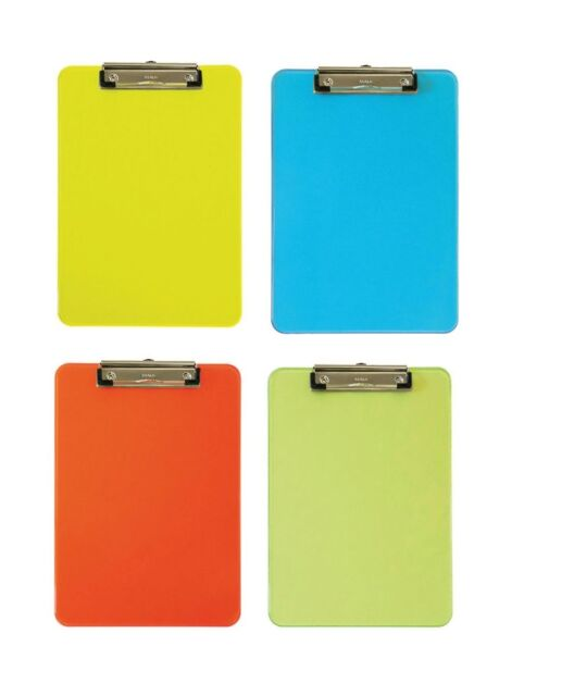 Maul Klemmbrett Schreibplatte, A4 MAULneon, verschiedene Neon-Farben wählbar