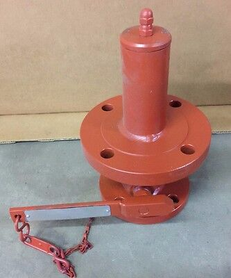 """Protectoseal Internal Safety Valve, C3002F3, 2"""" x 3"""" Flange, Used"""