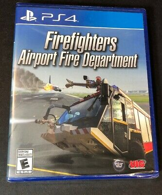 Firefighters [ Airport Fire Department ] (PS4) (Fire Car Games)