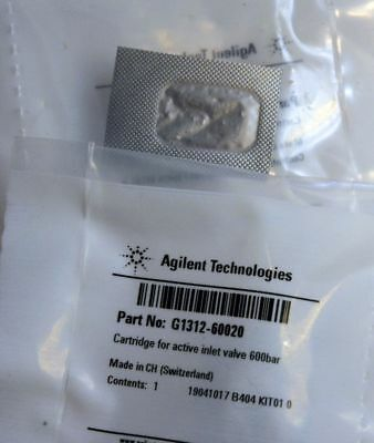 New In Box Agilent Cartridge For Active Inlet Valve 600 Bar G1312-60020