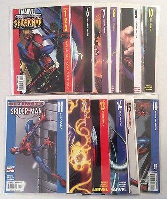 Ultimate Spider Man Series 1 Huge Lot Run Marvel Comics Nm Brian Bendis
