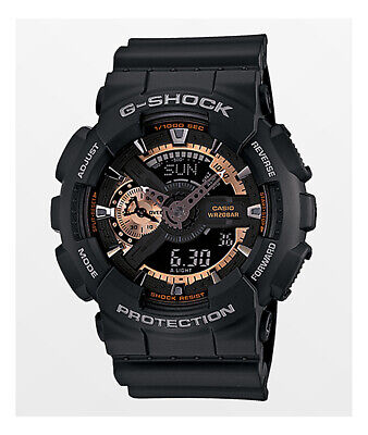 Casio GA-110RG-1A G-Shock Black Dial Resin Men's Watch comprar usado  Enviando para Brazil