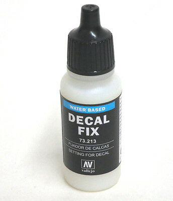 Vallejo Model Color Water Based Decal Fix  73.213    17ml Bottle Paint