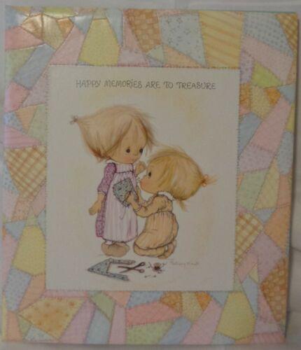 VINTAGE 1972 BETSEY CLARK SCRAPBOOK HAPPY MEMORIES ARE TO TREASURE 11x12 28p