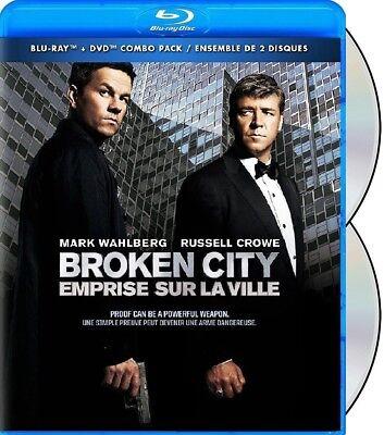 Broken City  Russell Crowe  Mark Wahlberg   New Blu Ray   Dvd