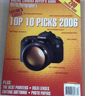 Digital Photographer's Magazine Top 10 Picks Best Printers 2006 072017nonrh