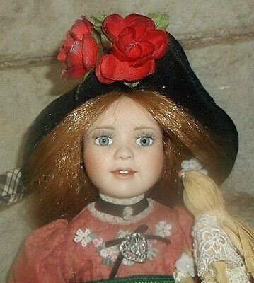 Linda Mason Paradise Galleries musical doll, original clothes, & tag, NO BOX