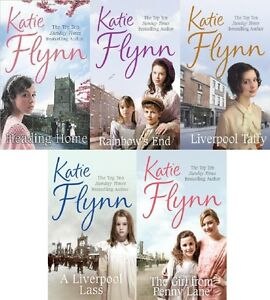 KATIE FLYNN ___ 5 BOOK SET ___ BRAND NEW ___ FREEPOST UK ..