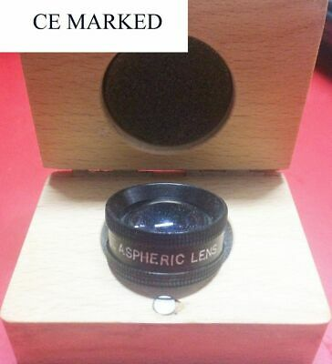 Top Quality 90d Double Aspheric Lens Ophthalmology In Wood Box - Gss Free Ship