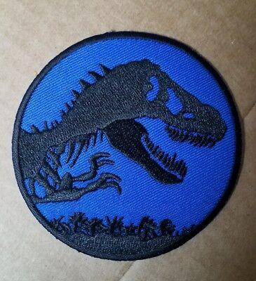 Jurassic World Jurassic Park Blau Uniform Kostüm Patch 3 cm Breit ()
