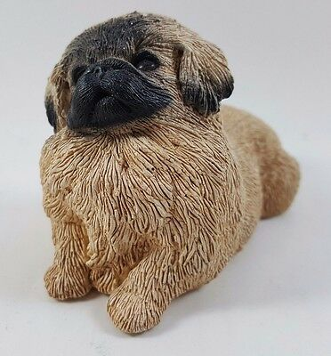 1989 Martha Carey Whiskers Pugr Dog Figurine # 2619