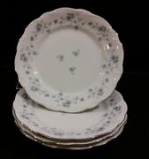 Johann Haviland Blue Garland Bread Plate
