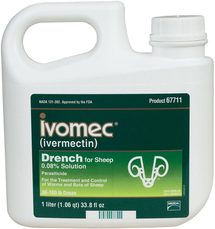 Ivomec Sheep Oral Wormer Drench 1 Liter