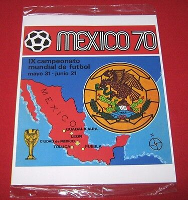 OFFICIAL LICENSED PANINI Album Reprint World Cup Mexico 1970 Complete No Sticker