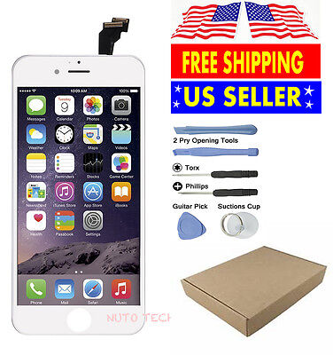 White LCD Display+Touch Screen Digitizer Assembly Replacement for iPhone 6 OEM
