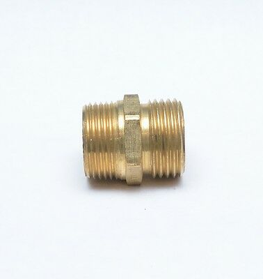 3/4 Male NPT Pipe to 3/4 Male Garden Hose GHT Thread Adapter FasParts Lawn -