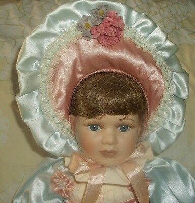 17-in porcelain doll, Angelina Visconti Collection, all original, NO BOX!