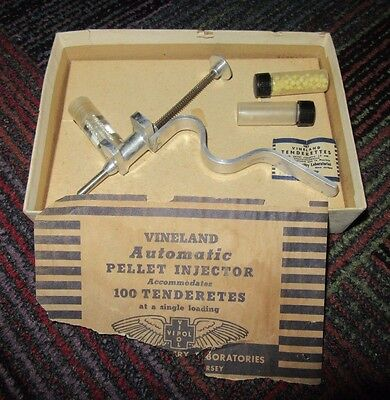 Vintage Vineland Automatic Pellet Tenderetes Injector Poultry Tenderizing Guc