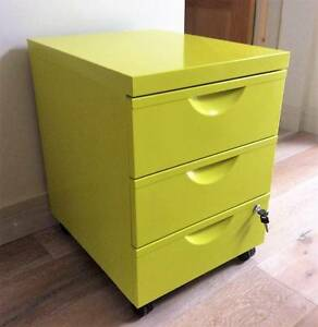 3 Draw Filing cabinet / Bedside Table Richmond Yarra Area Preview