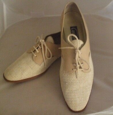 Great Gatsby Women's Shoes (Cappagallo Size 10 Suede/Textile Sand Color Great Gatsby Style Womens)