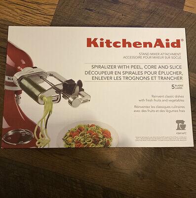 KitchenAid KSM1APC 5-Blade Spiralizer with Peel, Core & Slice