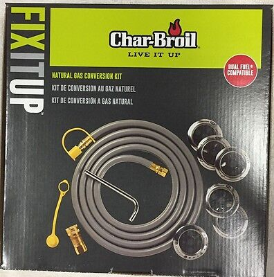 New Factory Sealed Box Charbroil Natural Gas Conversion Kit Free Shipping