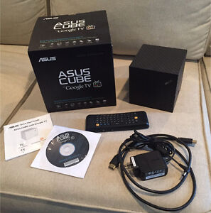 Asus Cube with Google TV Media streamer