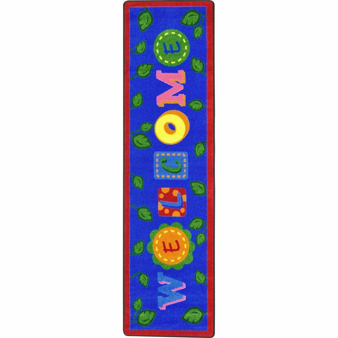 Joy Carpets Alphabet Leaves Children Rugs Bold NEW