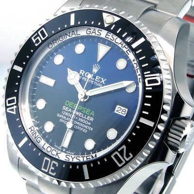 ROLEX BLUE 126660 DEEPSEA SEA DWELLER D-BLUE JAMES CAMERON BLUE BLACK 44 mm BLUE