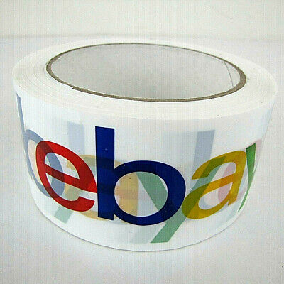 2 X 75 Yards Packaging Tape Ebay Branded Bopp Shipping 2 In White Supplies New