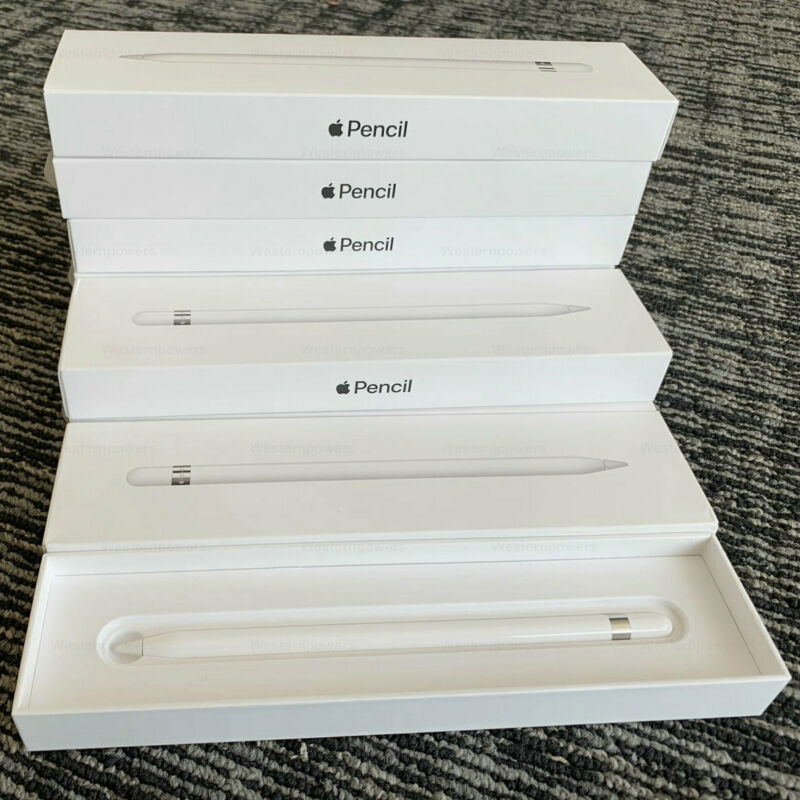 Apple Pencil 1st Generation MK0C2AM/A for iPad Pro 100% Authentic Retail Package