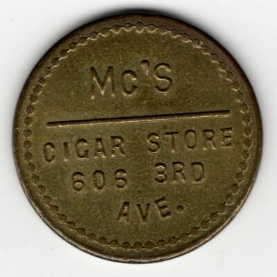 Craft Store Seattle (*** MC'S CIGAR STORE *** GOOD FOR 5¢ IN TRADE ** SEATTLE, WA ***)