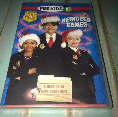 Odd Squad Reindeer Games Holiday DVD PBS Kids NEW SEALED FREE SHIPPING Christmas ()