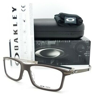 NEW Oakley Pitchman RX Prescription Frame Brownstone OX8050-0455 AUTHENTIC Brown
