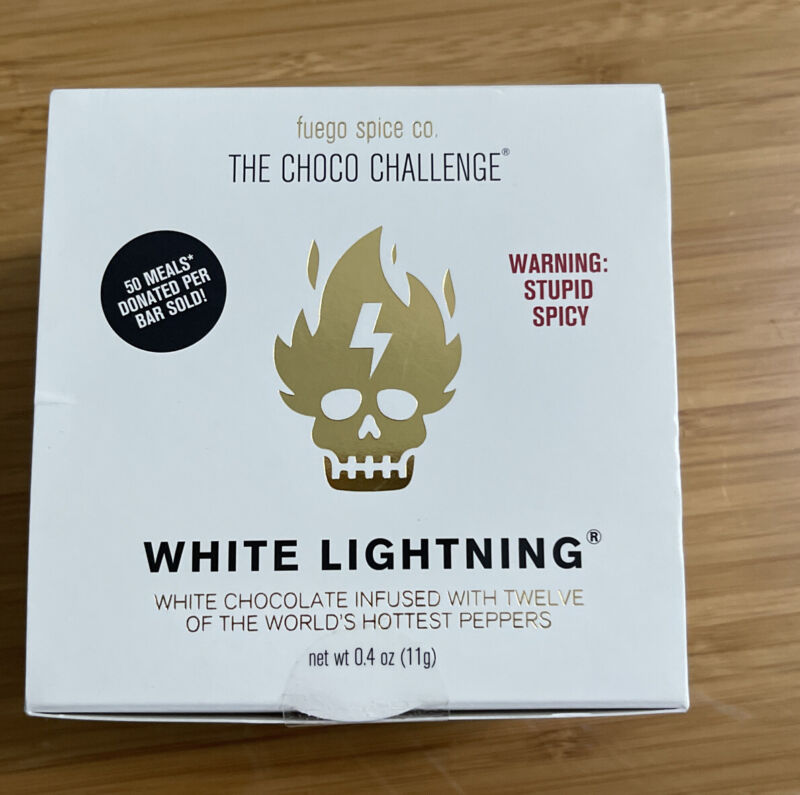 FUEGO SPICE CO. The Choco Challenge White Lightning 2/22