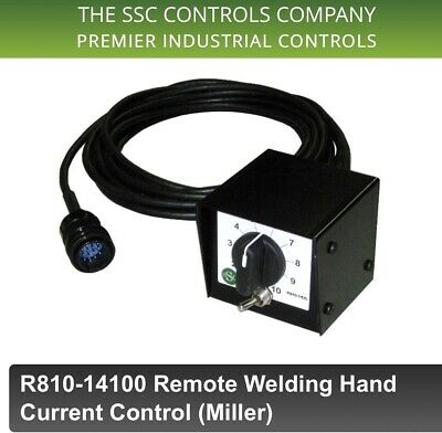Ssc Controls - Welding Remote - Miller 14-pin Remote Hand Current R810-14100
