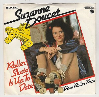 """Suzanne Doucet // Roller Skate Is Up To Date - 7"""" Single - gebraucht"""