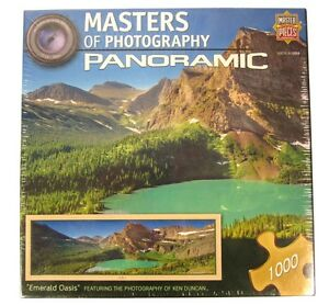 KEN DUNCAN Panoramic Emerald Oasis Puzzle 1000-piece NEW Master Pieces Jigsaw