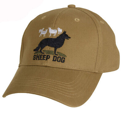 Sheep Dog Keep Them Safe Baseball Cap Coyote Brown Hat Ballcap Rothco 9819](Sheep Hat)