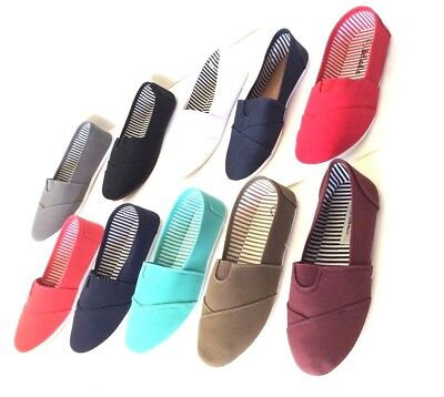 New women ballet flats slip on casual loafer canvas  shoes on sale free - Ballet Flats Womens Shoes