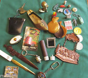 Vintage Junk Drawer Lot Toys
